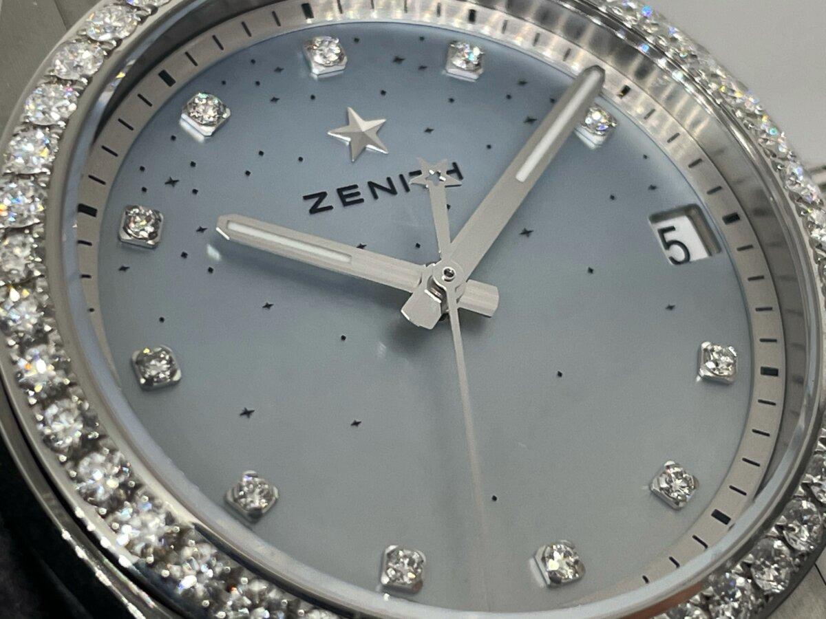 【ゼニス】マザーオブパール×ダイヤモンドの輝きがゴージャスな「デファイ ミッドナイト」-ZENITH -image4