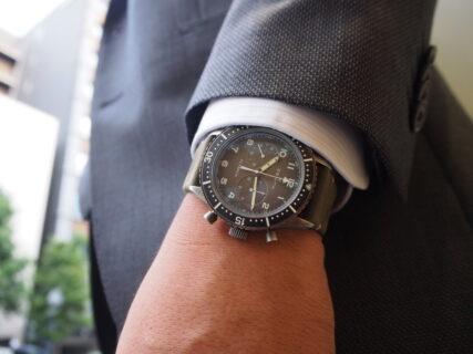 【ゼニス】販売終了モデル 時計愛好家垂涎の「パイロット クロノメトロ TIPO CP-2 フライバック」