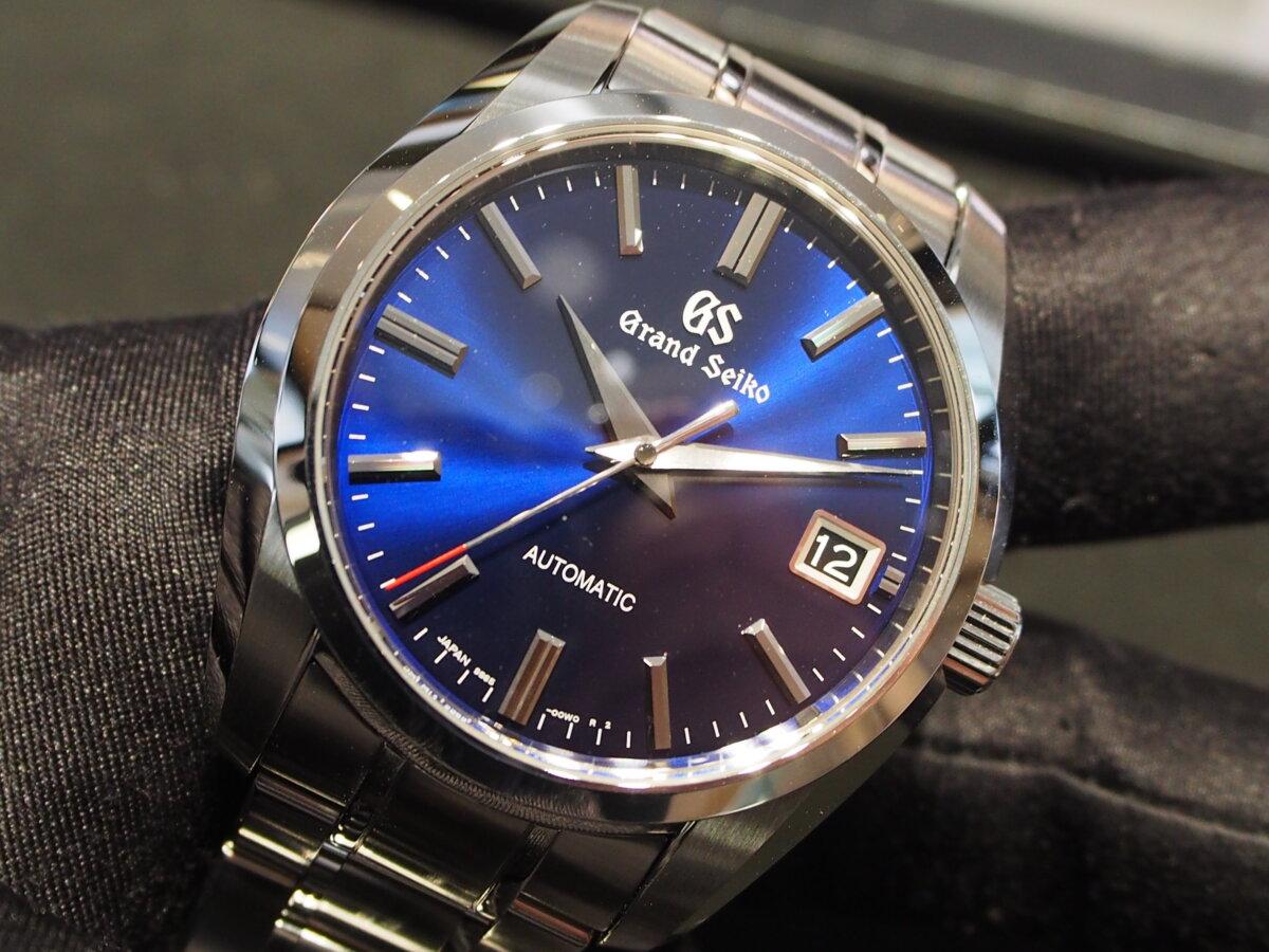 【グランドセイコー】60周年記念限定モデルが入荷 特別なブルーカラーダイヤル「SBGR321」-Grand Seiko -P9050728