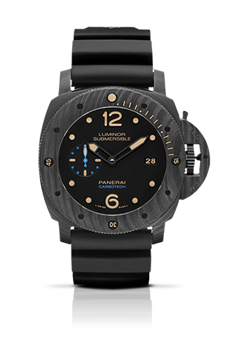 PANERAI2015新作LUMINOR SUBMERSIBLE 1950 CARBOTECH ™ 3 DAYS AUTOMATIC – 47MM