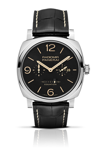 PANERAI2015新作RADIOMIR 1940 EQUATION OF TIME 8 DAYS ACCIAIO – 48MM