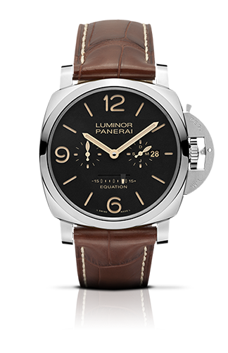PANERAI2015新作LUMINOR 1950 EQUATION OF TIME 8 DAYS ACCIAIO – 48MM
