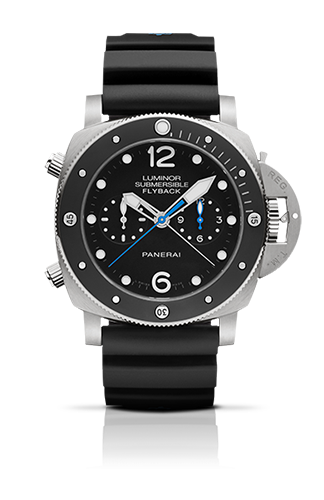 PANERAI2015新作LUMINOR SUBMERSIBLE 1950 3 DAYS CHRONO FLYBACK AUTOMATIC TITANIO – 47MM