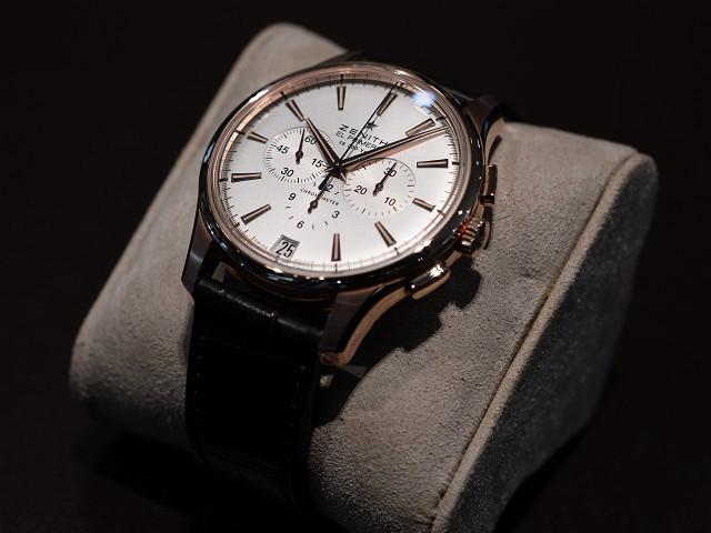 ゼニスフェア×クラシック時計は、キャプテン クロノグラフ。