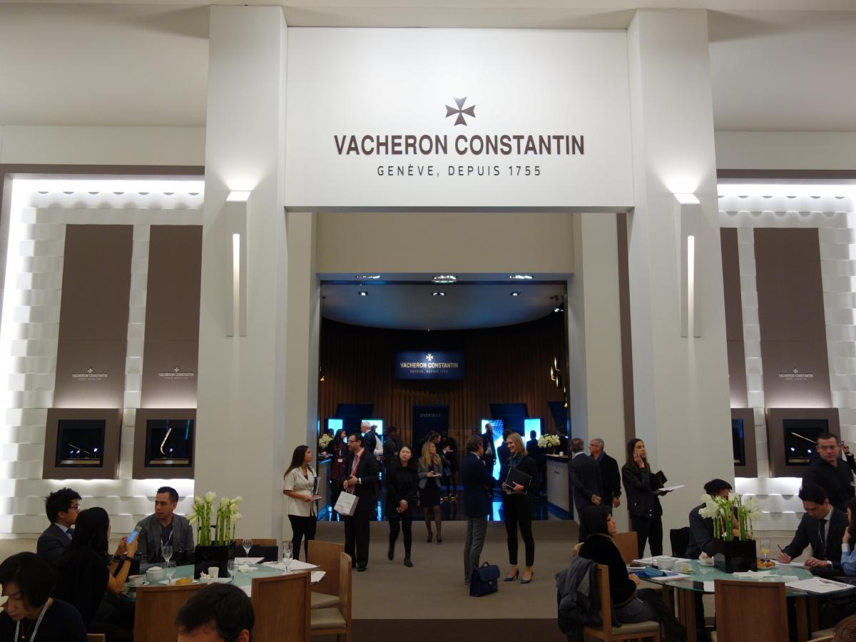VACHERON CONSTANTIN(ヴァシュロン・コンスタンタン)2016年SIHH会場