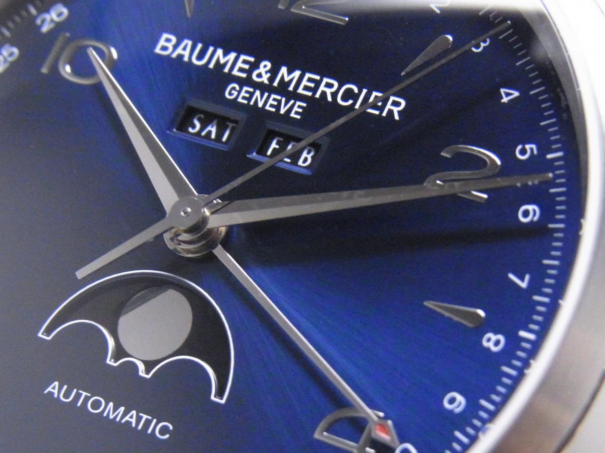 クラシマ コンプリートカレンダー(ブルーダイヤル)~BAUME&MERCIER~-BAUME&MERCIER -R0013079
