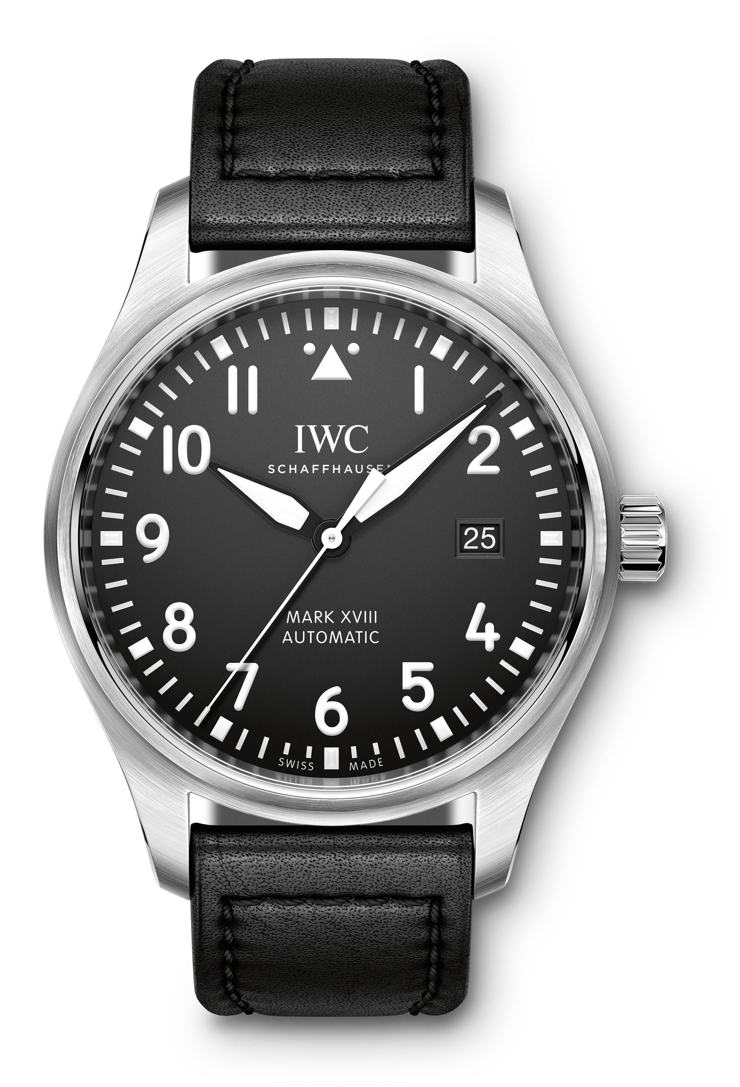 IWC 2016年 新作モデルをおさらい パイロット・ウォッチ ・マークXVIII(18) 全3型