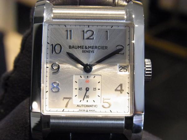 都会的なハンプトン・オートマティック~BAUME&MERCIER~-BAUME&MERCIER -R0014499-600x450