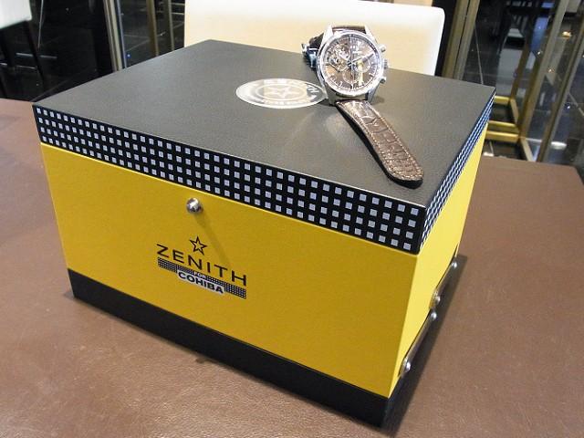本日の入荷商品  2016年新作モデル ZENITH /クロノマスター1969 コイーバ・エディション (03.2047.4061/76.C494)