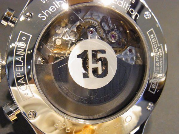 ブラック×イエローがかっこいい!ケープランド シェルビー® コブラ1963~BAUME&MERCIER~-BAUME&MERCIER -R0016451-600x450
