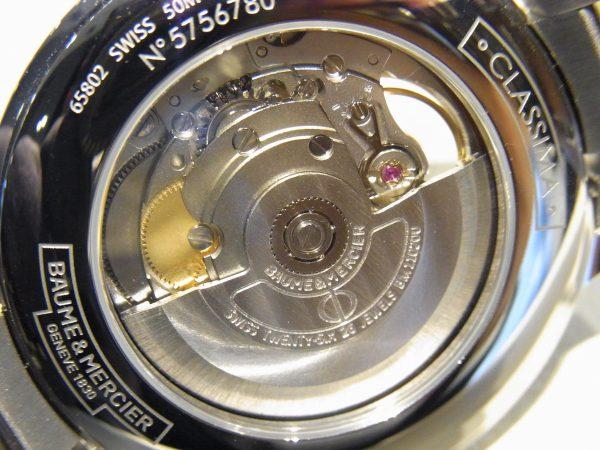 オープンが魅力的なクラシマ オープンバランス 40mm~BAUME&MERCIER~-BAUME&MERCIER -R0017218-600x450