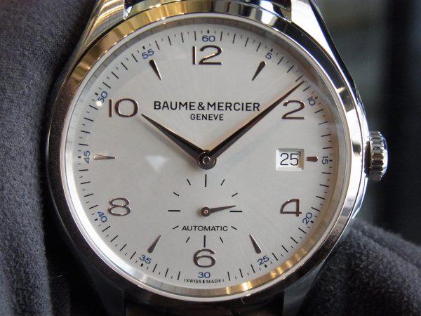 さりげないゴールド感。クリフトン スモールセコンド~BAUME&MERCIER~-BAUME&MERCIER -R0017381-600x450