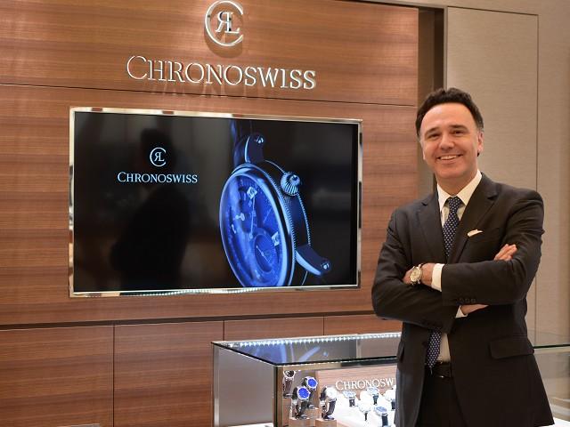 新規取扱いブランド CHRONO SWISS (クロノスイス)