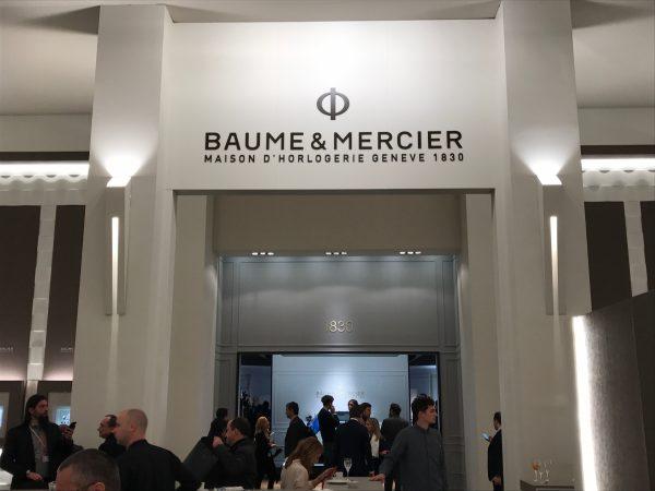 2017年SIHH新作情報まとめ BAUME & MERCIER ボーム&メルシエ。-▶SIHH|WW BAUME&MERCIER -IMG_8215-600x450