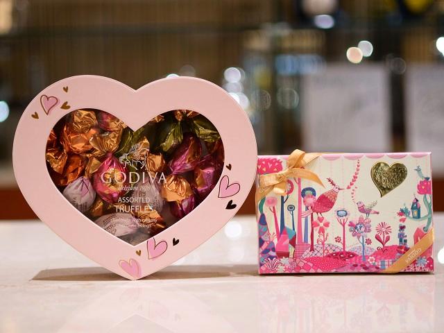 顧客様よりバレンタインデーのチョコレートを頂きました♪
