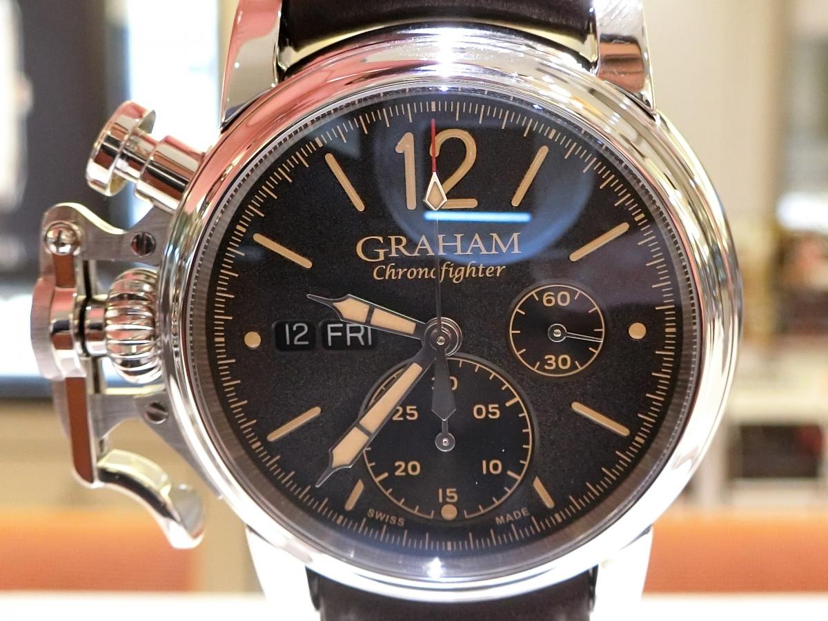本日は『GRAHAM』から「Chronofighter Vintage」をご紹介!