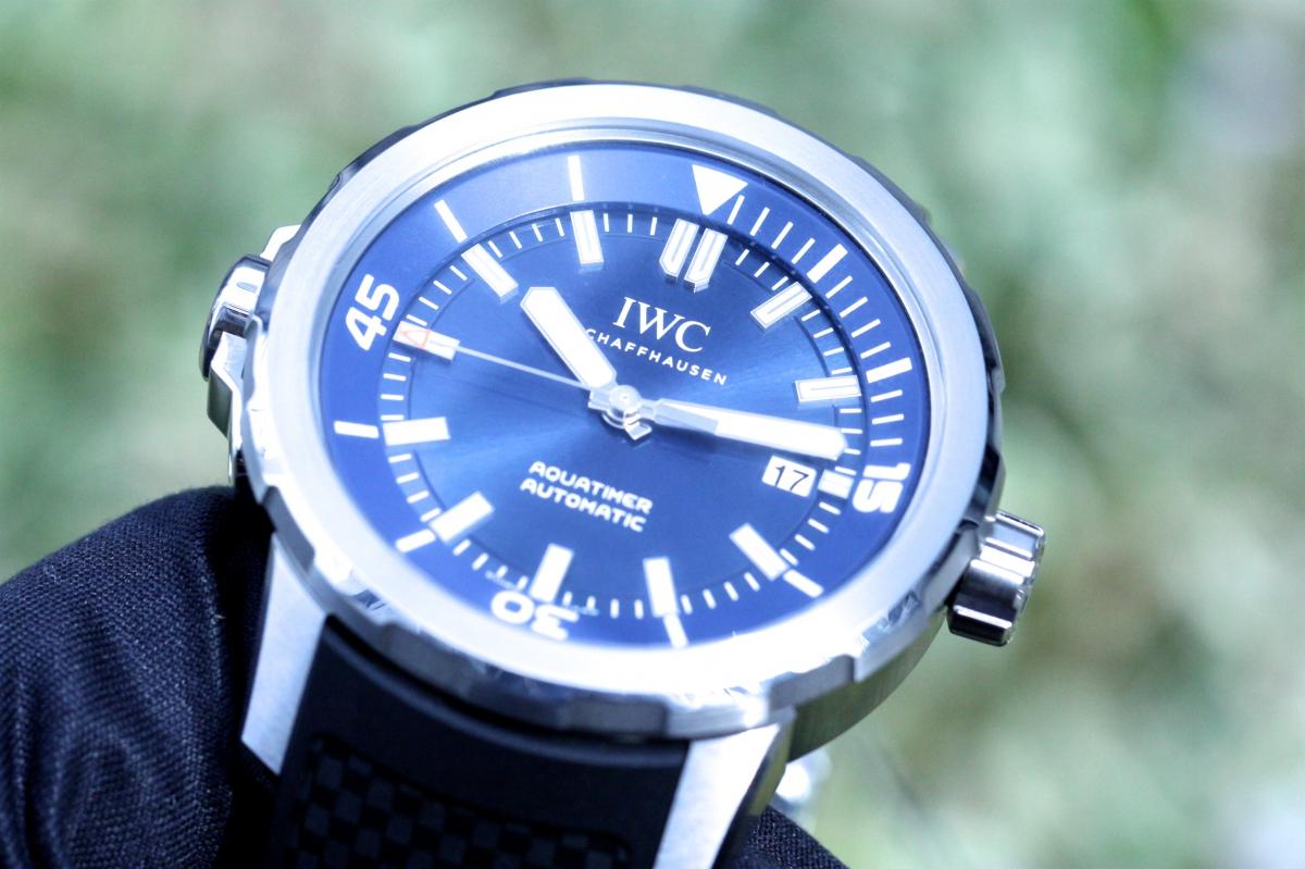 """夏らしい!!IWCダイバーズウォッチ「アクアタイマー」のブルー文字盤「""""エクスペディション・ジャック=イヴ・クストー""""」"""