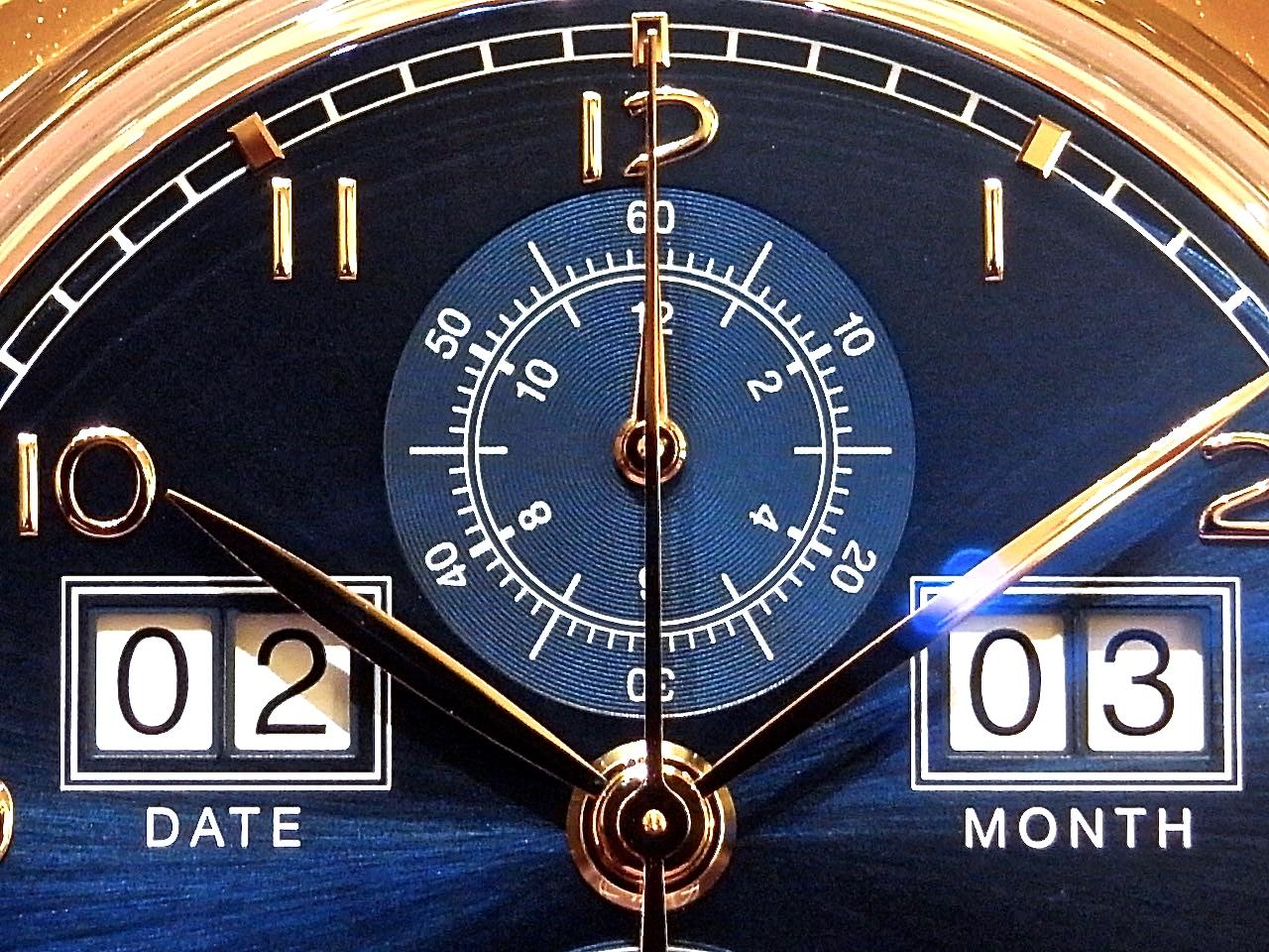 """IWC世界限定250本、デジタル表示を採用した「ポルトギーゼ・パーペチュアル・カレンダー・デジタル・ デイト/マンス""""75TH アニバーサリー""""」がご覧頂けます。"""