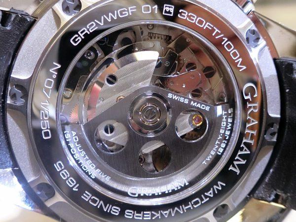 フェアも本日を含めて残り2日! GRAHAM New Collection 2017 から「シルバーストーン RS GMT」をご紹介!-GRAHAM -CIMG3663-600x450