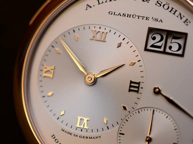 今日のA.ランゲ&ゾーネは、ランゲ1 ピンクゴールド LS1914AD 191.032