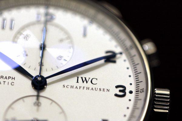 IWC 人気モデル! シンプルなデザインのクロノグラフ「ポルトギーゼ・クロノグラフ」。-IWC -IMG_5757-1-600x400