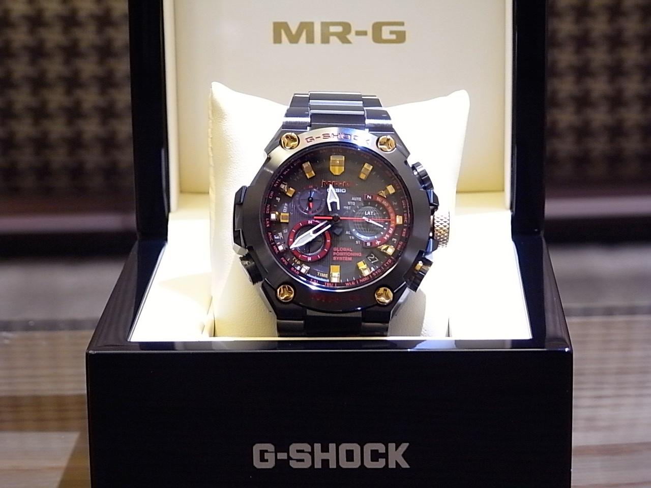 G-SHOCK最高峰MR-G人気モデル「赤備え」MRG-G1000B-1A4JR 再入荷しました!