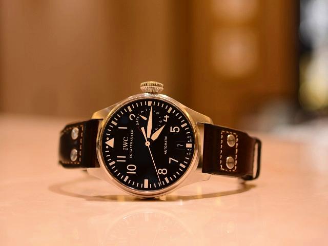 休日に着けて欲しい時計×IWCは、ビッグ・パイロットウォッチ