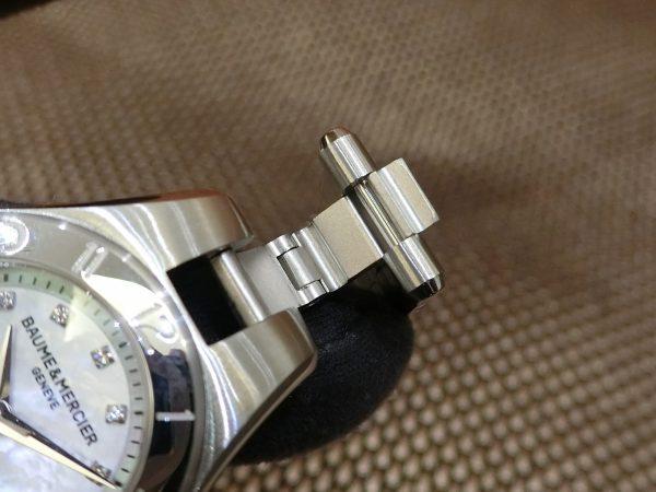 いつでも付け替えが出来る BAUME&MERCIER 「リネア ジャパン・リミテッド」-BAUME&MERCIER -CIMG4636-600x450