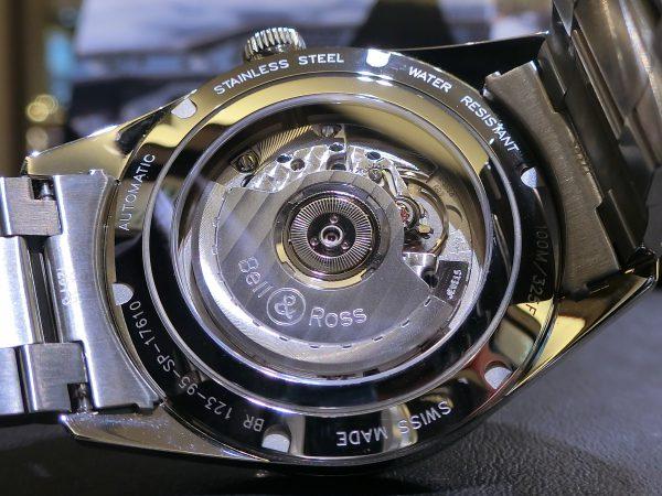 軍事時計をなぞったデザインの「ヴィンテージBR123 オフィサー 」Bell&Ross V-BR123OF-B-M-Bell&Ross -CIMG5046-600x450