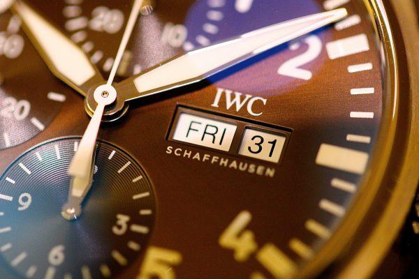"""美しいブラウンカラーを採用した、IWC パイロット・ウォッチ・クロノグラフ """"アントワーヌ・ド・サンテグジュペリ""""入荷しました。-IWC -IMG_5948-600x400"""