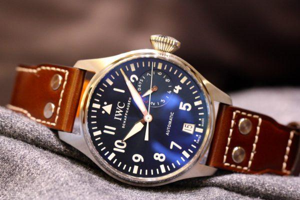 IWCの美しいブルー文字盤を採用したパイロットウォッチ。-IWC -IMG_5994-600x400