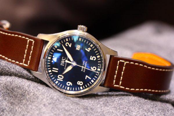 IWCの美しいブルー文字盤を採用したパイロットウォッチ。-IWC -IMG_5999-600x400