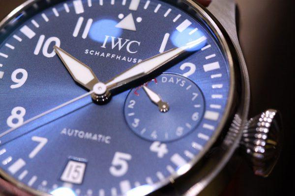 IWCの美しいブルー文字盤を採用したパイロットウォッチ。-IWC -IMG_6003-600x400