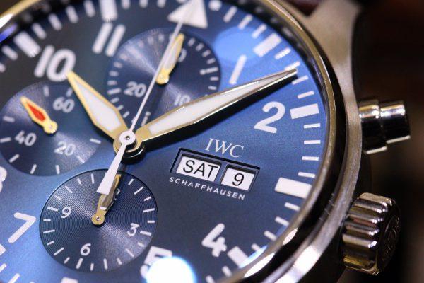 IWCの美しいブルー文字盤を採用したパイロットウォッチ。-IWC -IMG_6004-600x400