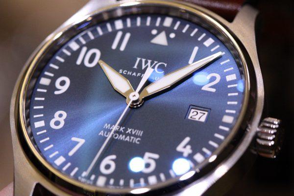 IWCの美しいブルー文字盤を採用したパイロットウォッチ。-IWC -IMG_6005-600x400