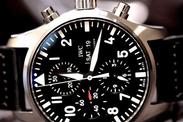 視認性の高い実用的なIWC「パイロット・ウォッチ・クロノグラフ IW377709」。-IWC -IMG_6046-600x400