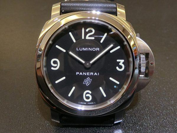 文字盤が似ている時計のご紹介!!Bell&Ross 「BR 03-92 スティール」BR0392-BL-ST/SRB PANERAI「ルミノール ベース ロゴ アッチャイオ」PAM01000-Bell&Ross PANERAI -CIMG5770-600x450