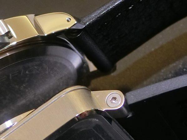 文字盤が似ている時計のご紹介!!Bell&Ross 「BR 03-92 スティール」BR0392-BL-ST/SRB PANERAI「ルミノール ベース ロゴ アッチャイオ」PAM01000-Bell&Ross PANERAI -CIMG5772-600x450