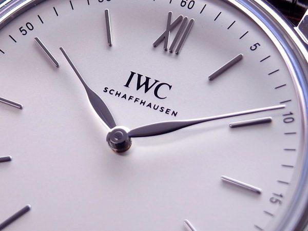 IWC シンプルを突き詰めたデザインの「ポートフィノ・ハンドワインド・ピュア・クラシック」-IWC -R1164684-600x450