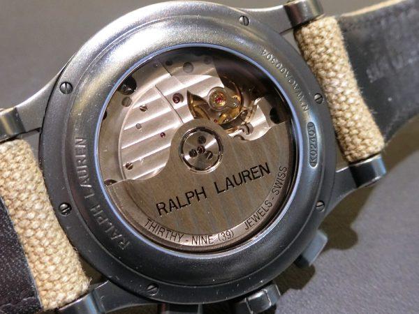 当店では、クロノグラフ サファリRL67 39mmと45mm着け比べができます!!~RALPH LAUREN~-RALPH LAUREN -CIMG6065-600x450