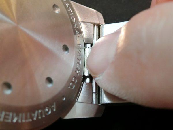 ストラップの取り外しがワンタッチ! ジャガールクルト IWC パネライで比較-IWC Jaeger-LeCoultre PANERAI -CIMG6100-600x450