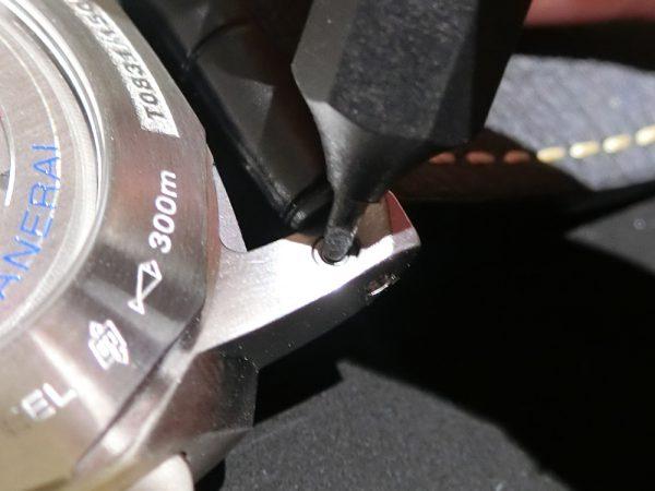 ストラップの取り外しがワンタッチ! ジャガールクルト IWC パネライで比較-IWC Jaeger-LeCoultre PANERAI -CIMG6106-600x450