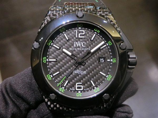 素材違いの軽量モデルを比べてみました。IWC ロジェ・デュブイ パネライ-IWC PANERAI ROGER DUBUIS -CIMG6327-600x450