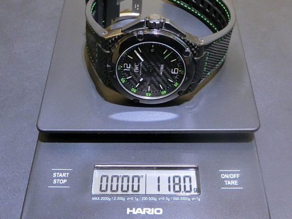 素材違いの軽量モデルを比べてみました。IWC ロジェ・デュブイ パネライ-IWC PANERAI ROGER DUBUIS -CIMG6332-600x450