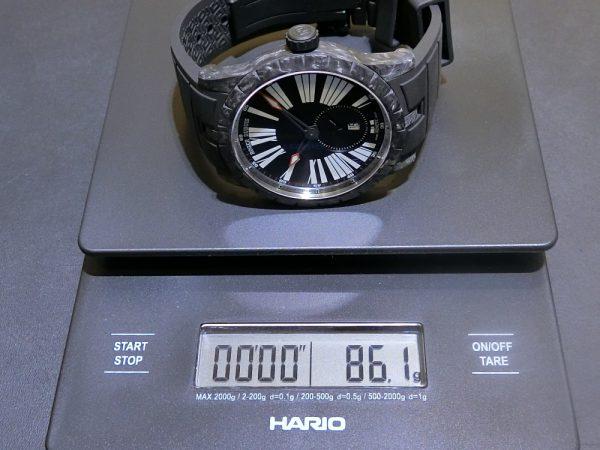 素材違いの軽量モデルを比べてみました。IWC ロジェ・デュブイ パネライ-IWC PANERAI ROGER DUBUIS -CIMG6335-600x450