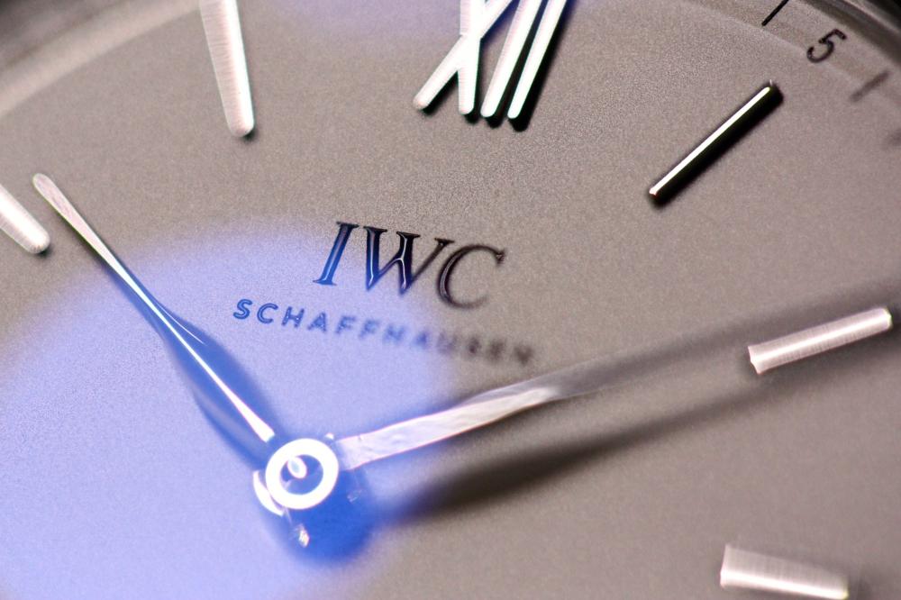 IWC シンプルの極み! 2針の手巻き「ポートフィノ・ハンドワインド・ピュア・クラシック」。