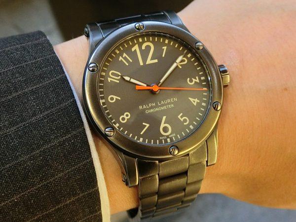 """使い込むほどに味が出てくる武骨な時計、""""サファリRL67クロノメーター39mm~RALPH LAUREN~-RALPH LAUREN -CIMG7285-600x450"""