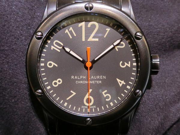 """使い込むほどに味が出てくる武骨な時計、""""サファリRL67クロノメーター39mm~RALPH LAUREN~-RALPH LAUREN -CIMG7299-600x450"""