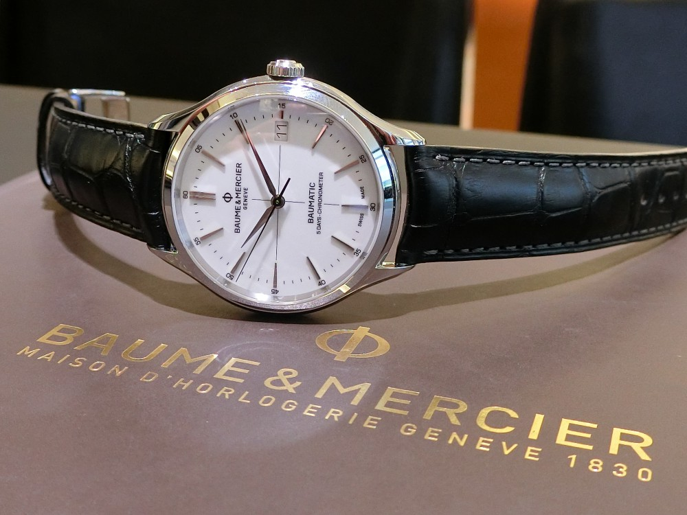 oomiya大阪心斎橋 『BAUME&MERCIER New Collection Fair』開催中