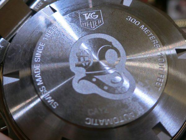 タグホイヤーのダイバーズウォッチ「アクアレーサー キャリバー16 クロノグラフ セラミック」CAY211A.BA0927-TAG Heuer -CIMG9886-600x450
